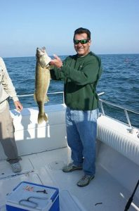 bass caught in lake erie