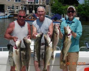 guided group fishing trip
