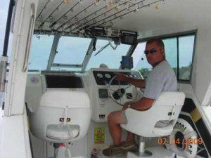 Fishing Charter Captain Rick Comstock