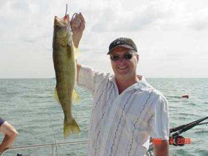 fish caught in lake erie
